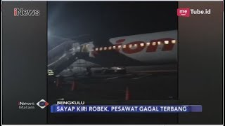 Download Video Lion Air JT 633 Senggol Tiang Lampu Bandara Bengkulu - iNews Malam 07/11 MP3 3GP MP4