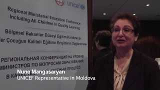 EducationEquity - Interview with Nune Mangasaryan, UNICEF Representative in Moldova. Interviewer: Anna Susarenco, youth ...