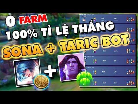Mất Cân Bằng Game Với Meta SONA + TARIC ĐI BOT KHÔNG CẦN FARM 20p FULL ĐỒ - Thời lượng: 26:33.