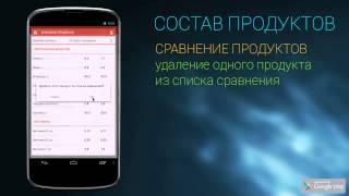 Состав продуктов Видео YouTube