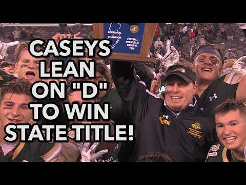 Red Bank Catholic 14 Mater Dei Prep 10 | NP Group 3 Final | Caseys D Seals State Title!