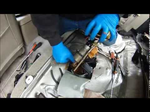 MAKE YOUR OWN FUEL PUMP ACCESS & SAVE $100's W/OUT DROPPING THE TANK 99 MAZDA 626 2.0L