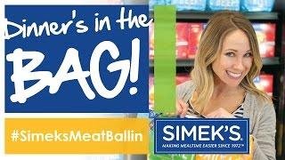#SimeksMeatballin - Dinner's in a bag!