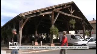 Chatillon-sur-Chalaronne France  city photos : Cité médiévale de Châtillon-sur-Chalaronne sur Midi en France, FRANCE3.