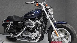10. 2013  HARLEY DAVIDSON  XL1200C SPORTSTER 1200 CUSTOM - National Powersports Distributors