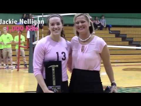 Dig for Pink: WashU Volleyball Senior Night