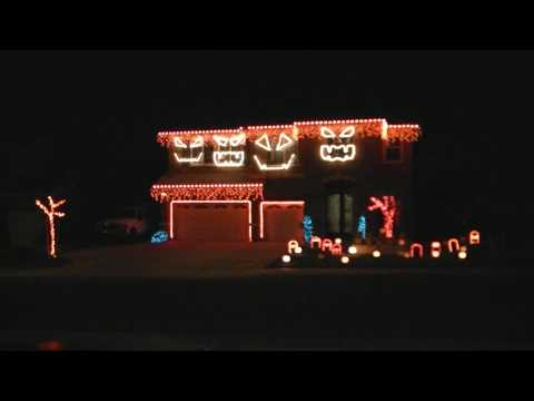 HD Halloween Lightshow