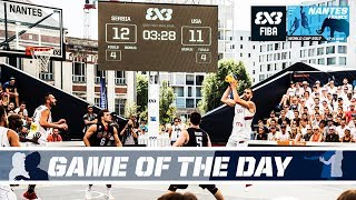 Watch the full Quarter-Finals game between Serbia and the USA from the FIBA 3x3 World Cup 2017! Subscribe to the FIBA3x3...