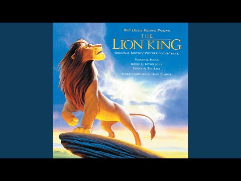 """I Just Can't Wait to Be King (From """"The Lion King""""/Soundtrack Version)"""