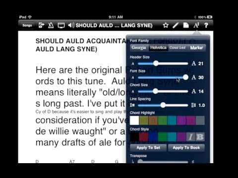 How to put music into your iPad using iTunes and OnSong
