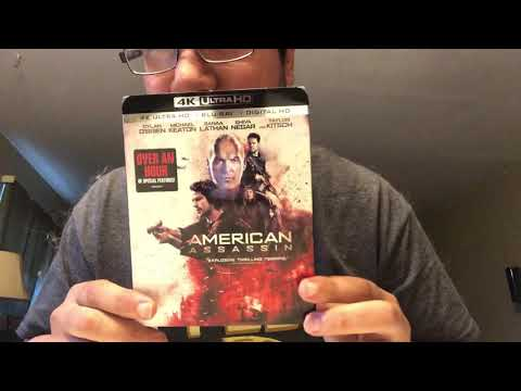 American Assassin 4K Ultra HD Blu-Ray Unboxing
