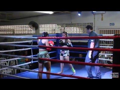 2º VC Fight - Júlia Bittencourt (Equipe Castellano)  x Juliana \