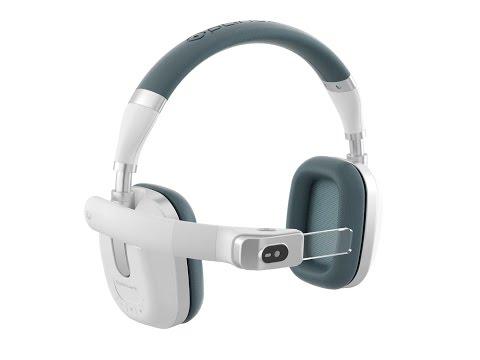 Le casque audio Ora-X d'Optinvent