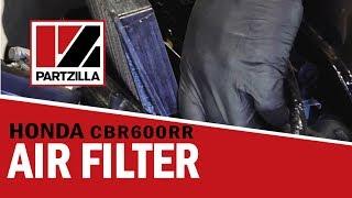 9. Honda CBR 600RR Air Filter Change | Partzilla.com