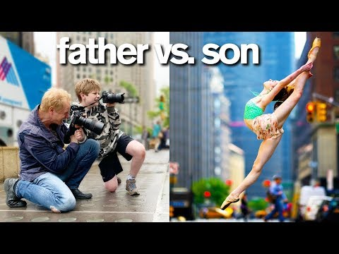 Instagram Controls Father vs. Son Photo Challenge *Embarrassing Consequence*