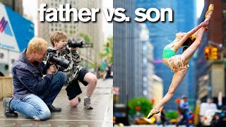 Video Instagram Controls Father vs. Son Photo Challenge *Embarrassing Consequence* MP3, 3GP, MP4, WEBM, AVI, FLV Juli 2019
