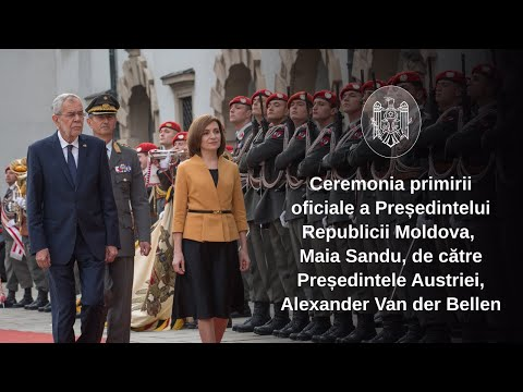 Președinții Republicii Moldova și Austriei, Maia Sandu şi Alexander Van der Bellen, au convenit să avanseze cooperarea dintre cele două țări