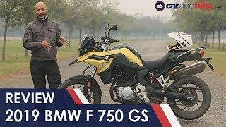 1. 2019 BMW F 750 GS Review | NDTV carandbike