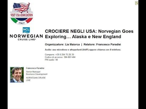 Video CROCIERE NEGLI USA: Norvegian Goes Exploring… Alaska e New England