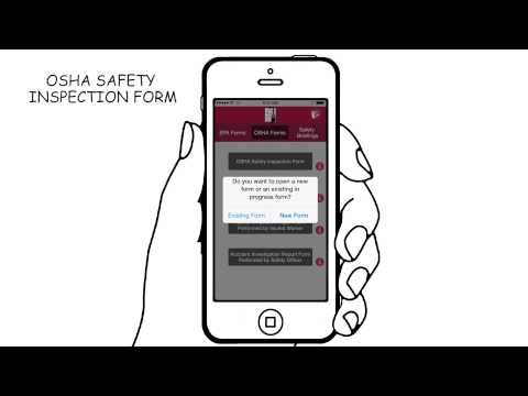Video for the Painter Safety Forms Mobile App