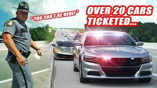 CORRUPT KENTUCKY COPS ILLEGALLY TICKET SUPERCAR OWNERS!! FT. DAILY DRIVEN EXOTICS