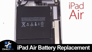 Video How To: iPad Air Battery Replacement MP3, 3GP, MP4, WEBM, AVI, FLV November 2018