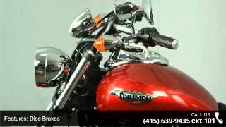 9. 2012 Triumph Speedmaster Only 1272 Miles! - SF Moto - San...