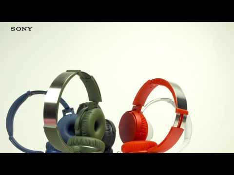 Słuchawki SONY MDR-XB550AP Czarny