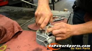 5. Installing the 150cc Go Kart Engine Rebuild Kit