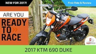 6. 2017 KTM 690 Duke -- First Ride and Review