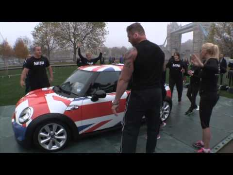 Oddest at World Records Day – How Many Girls Can Fit into a Mini
