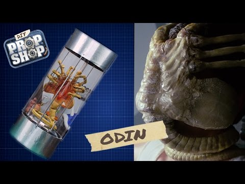 How to Make a Xenomorph CryoStasis Tube and a Facehugger From the Alien