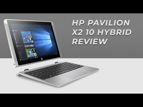 HP Pavilion X2 10 Hybrid Laptop Review : 2016