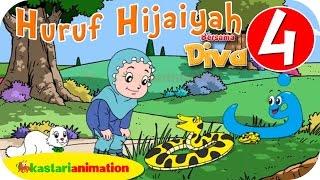 Huruf Hijaiyah bersama Diva (full version) | part 4 | - Kastari Animation Official
