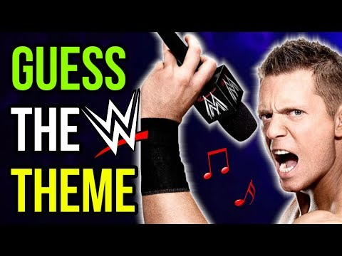WWE THEME SONG QUIZ - WHOSE SPEAKING?