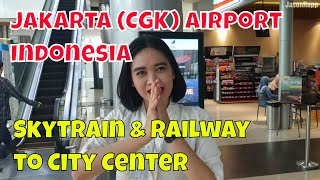Video Why so empty? Jakarta CGK Airport to city on Soekarno–Hatta Skytrain & Airport Rail Link train MP3, 3GP, MP4, WEBM, AVI, FLV Mei 2019