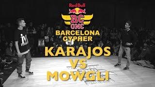 Karajos VS Mowgli - SemiFinal - Red Bull BC ONE Barcelona Cyph...