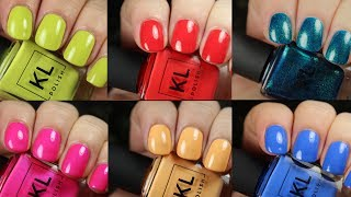 """Today we're looking at live application of the KL Polish Summer 2017 """"Miami"""" collection. This brand was created by YouTube..."""