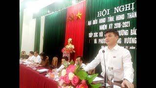 Đại biểu HĐND tỉnh, thành phố tiếp xúc cử tri phường Bắc Sơn - Trưng Vương