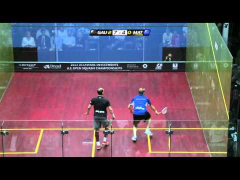 Squash : 2013 Delaware Investments U.S. Open PSA Final roundup Gaultier v Matthew