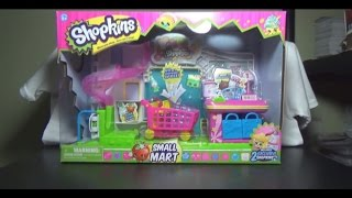 Opening Shopkins Small Mart Grocery Store Play Set Including 2 Exclusive ShopkinsCheck out http://www.thegamecapital.com for all your toy needs!Amazon store: http://www.amazon.com/shops/TheGameCa...eBay Store: http://stores.ebay.com/The-Game-CapitalFollow me on Facebook: https://www.facebook.com/penguinchick86Follow me on Twitter @penguin_chick86