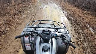 3. CFMOTO CFORCE 500S ATV Ride GoPro Hero 7 Black
