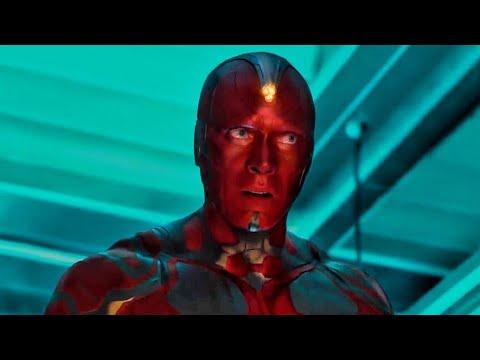 Creating Vision - Vision Frist Born Birth Scene - Avengers Age of Ultron (2015) HD Movie Clip