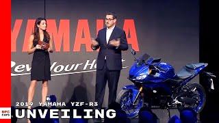 3. 2019 Yamaha YZF-R3 Unveiling