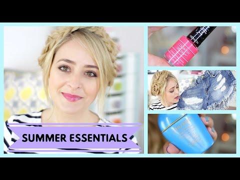 My Summer Essentials! FleurDeForce | Ad | Fleur De Force