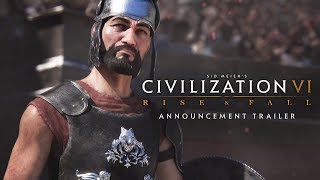 Video Civilization VI: Rise and Fall Expansion Announcement Trailer MP3, 3GP, MP4, WEBM, AVI, FLV Januari 2018