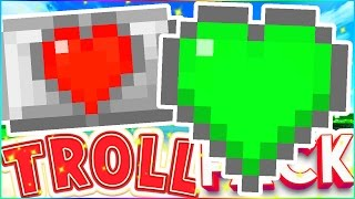 FINALLY CRAFTABLE GREEN EXTRA HEARTS - TROLL PACK SMP #20