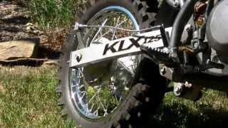 10. KLX 125 Kawasaki Trail Bike