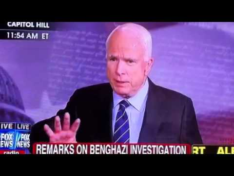John McCain going HAM on a reporter!