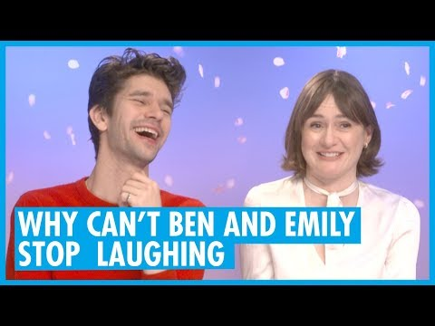 Ben Whishaw and Emily Mortimer Interview - Mary Poppins Returns